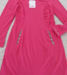 Blugirl pink haljina M