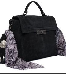 Nova Replay kožna torba s ukrasnom maramom