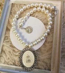 Ogrlica biseri perle Nova!