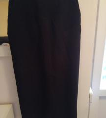 Crna pencil suknja 34
