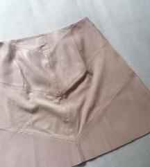 》Zara kožna suknja《