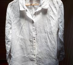H&M bijela lanena košulja + poklon uz kupnju