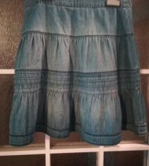 Dječja traper suknja