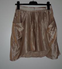 Massimo Dutti predivna suknja od svile vel.36