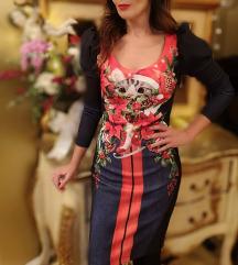 Boudoir božićna haljina