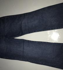 Vintage trapez hlače