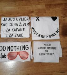 Lot bijelih majica