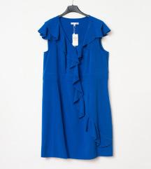 Plava haljina plus size, 14W ili 50 velicina, novo