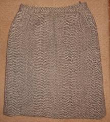 zimska pencil suknja