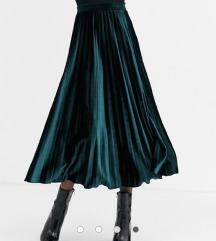 Asos plisirana suknja