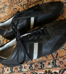 Tommy Hilfiger crne kožne tenisice cipele