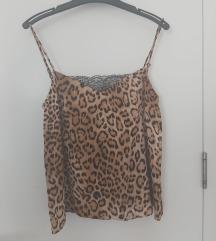 Top s uzorkom leoparda XS (ZARA)