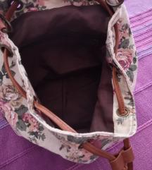 Ženski cvjetni ruksak