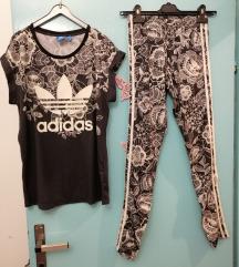 Majica i tajice xs komplet