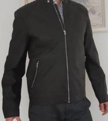 NOVO NENOŠENO kožna Jack & Jones kožna jakna