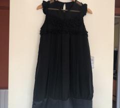 Crna fina haljina