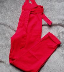 Paperbag hlače novo