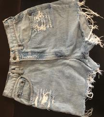 Traper kratke hlače visok struk