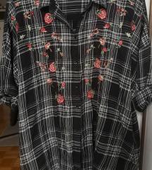 Zara košulja-haljina