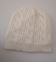 NOVA bijela zimska kapa