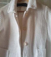 Zara jaknica bijela vel. M