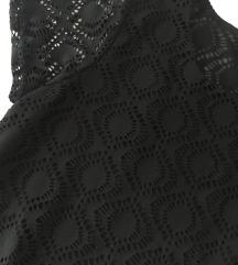 Vero Moda crna čipkana majica