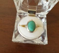 Srebrni prsten sa tirkizom 925.