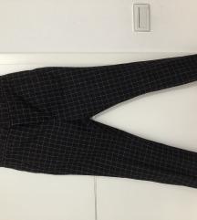 Crne odijelo hlače sa printom