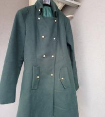 Zeleni ženski kaput
