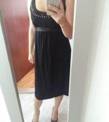 crna haljinica L vel.