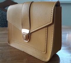 NOVO torbica boje senfa