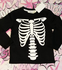 H&M Halloween majica, vel 98-104 - novo