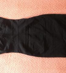 Crna kratka haljina 70kn SNIZENO