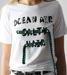 Majica s biserima