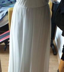 %% snizenje%% Bijela haljina