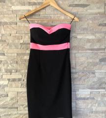 tally weijl rozo crna haljina