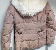 Dubin,zimska jakna s pravim krznom