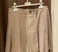 Suknja Mango karirana