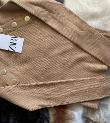 Zara top majica sa gumbima