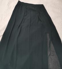 Hm suknja od tila s prorezom