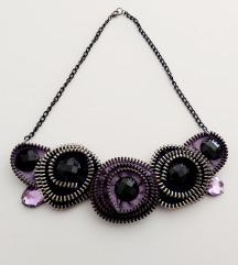 Unikatna ogrlica na krugove (pt gratis)