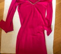 EVA ROZA midi haljina viskoza 36 :)