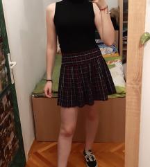 New yorker karirana suknja