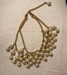 Biserna dvoredna ogrlica