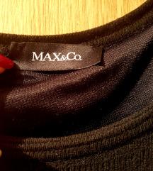 Max&Co crna kratka haljina