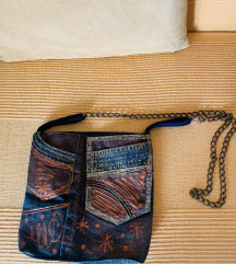 Jeans torbica