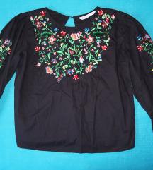 Zara bluza s cvijećem