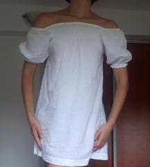 Bijela Coton des Iles haljina