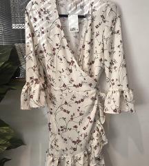 H&M cvjetna/ floral haljina nova s etik