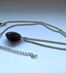 Ogrlica crni opsidijan
